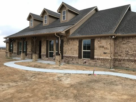 ranch style texas homes
