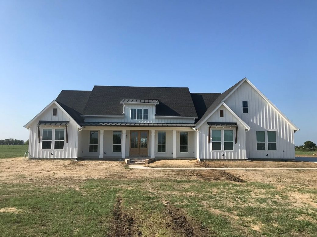 hardie custom home